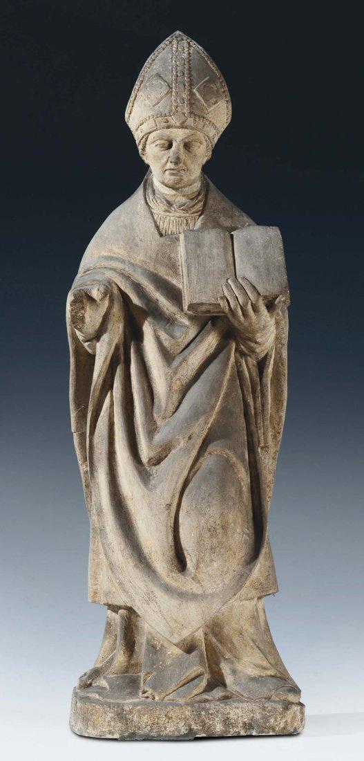 "Sculptor of the 15th century ""Saint Prosdomo or Saint"