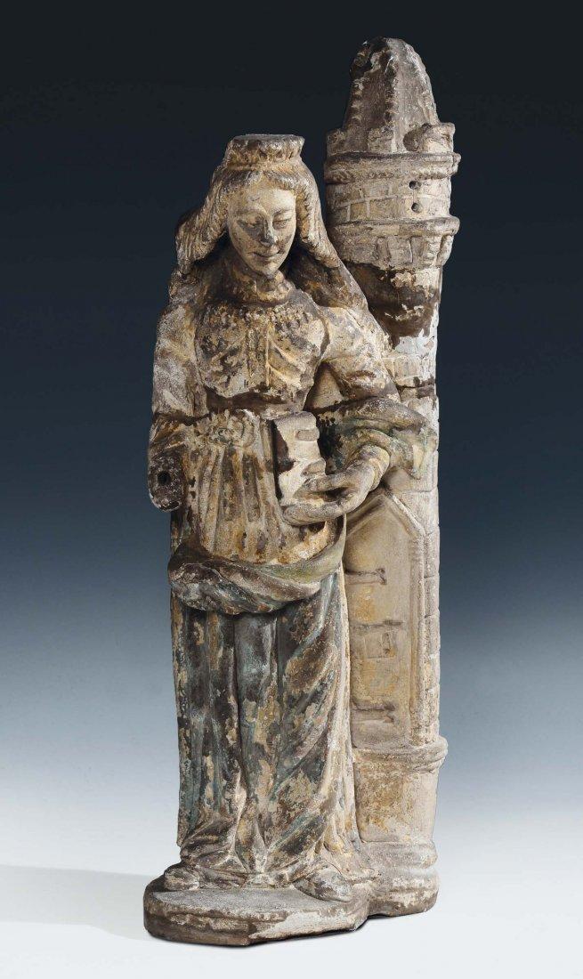 "Transalpine sculptor of the 15th /16th century ""Saint"