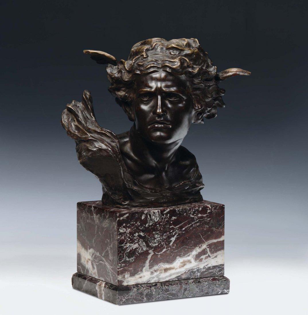 "Francesco De Luca (19th / 20th century) ""Hermes'"
