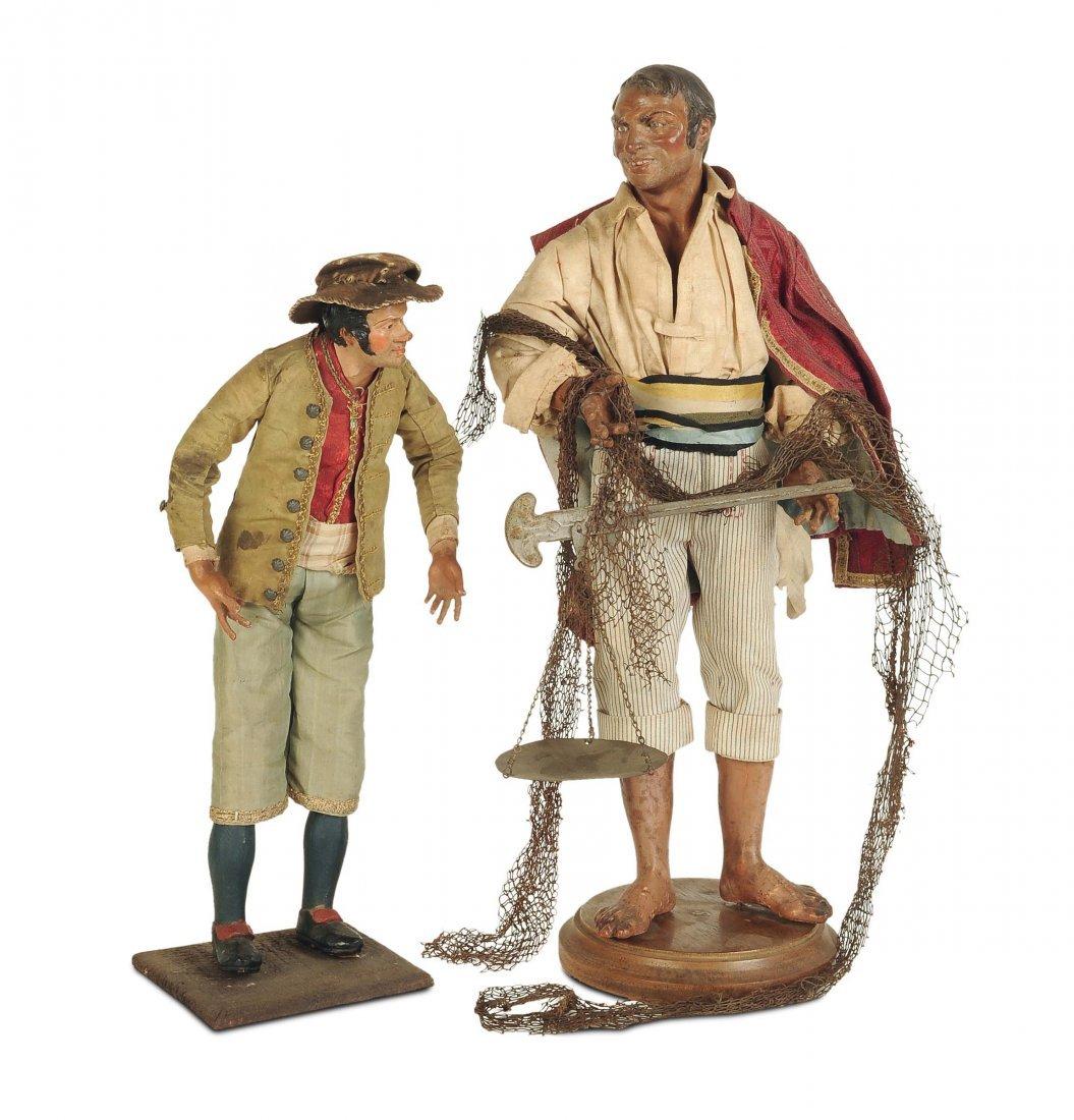 Gruppo di contadini, Napoli, XVIII-XIX secolo