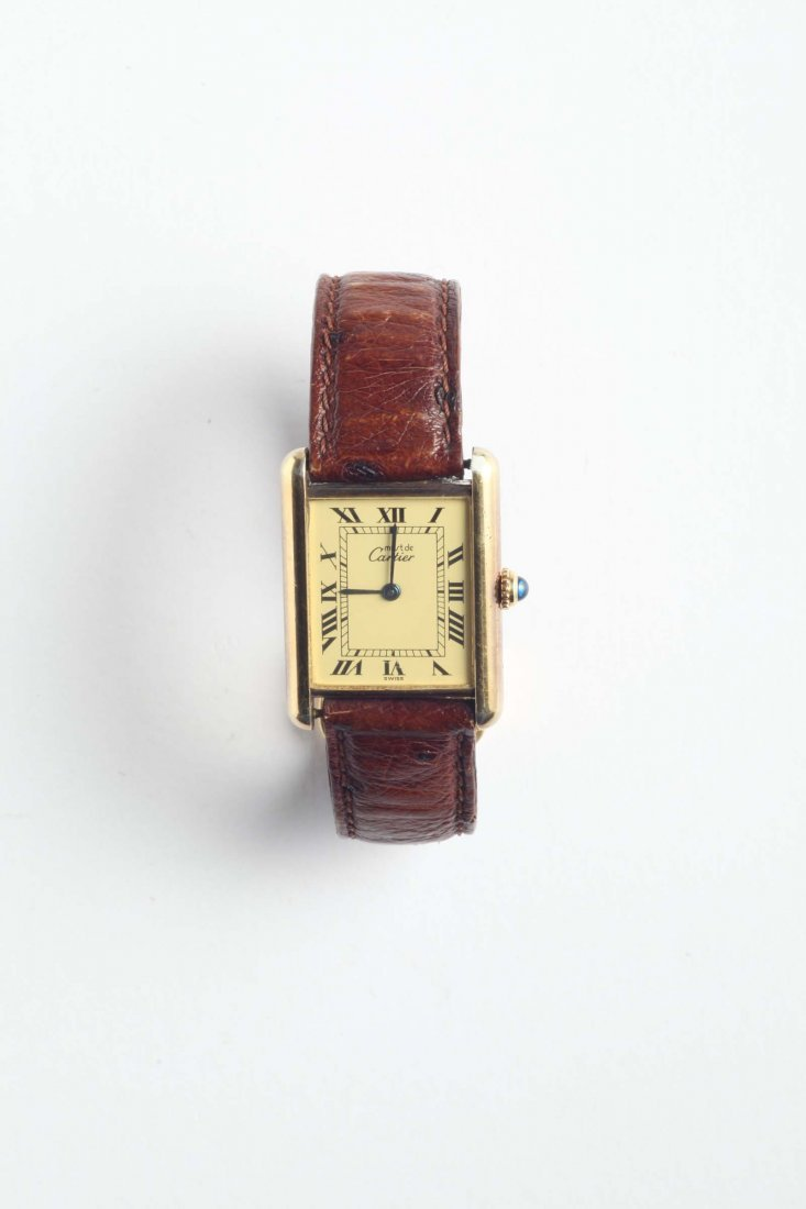 Cartier Tank orologio da polso,