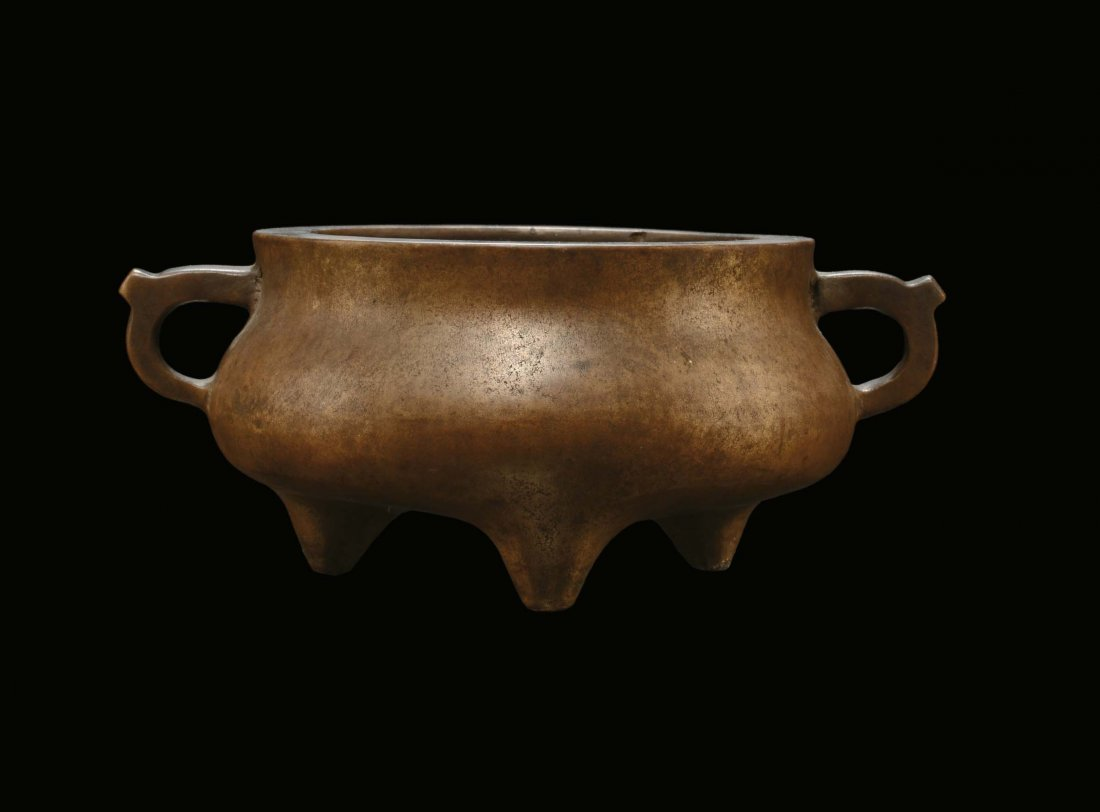 A bronze censer, China, Ming Dynasty, 17th century