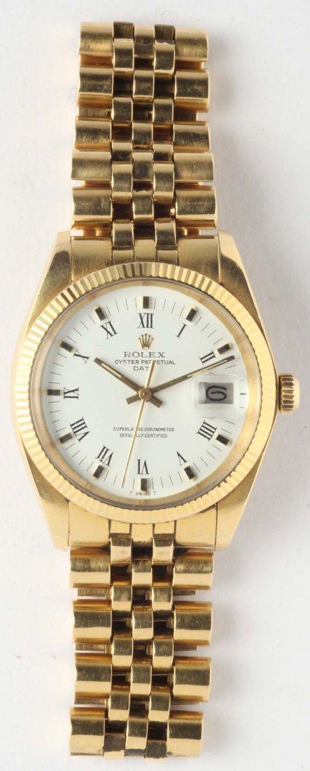 Rolex Oyster Perpetual Date, orologio da polso con