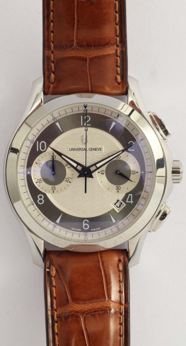 Universal Geneve Uni Timer, orologio da polso per uomo