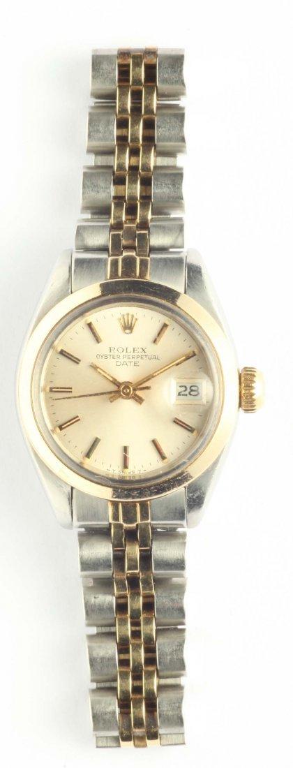 Rolex, orologio da polso per signora cassa in oro