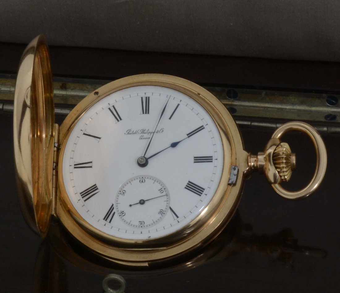 Patek Philippe Genève, orologio da tasca in oro giallo,