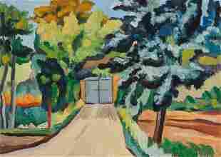 Alberto Magnelli (1888-1971), Paysage de Toscane, 1925