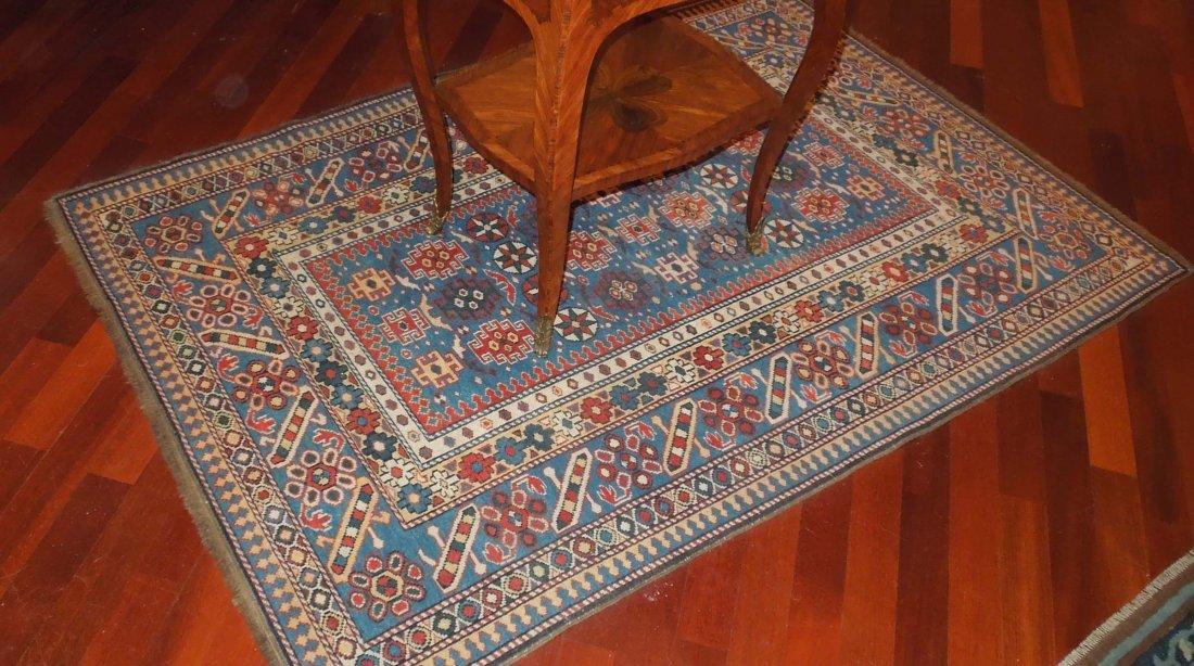 A Chi Chi Caucasian carpet, early 20th century