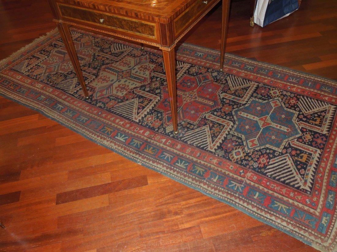 An Akstafa Caucasian carpet, late 19th, early 20th