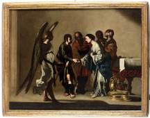 Bernardo Cavallino Napoli 1616  1656 Matrimonio di