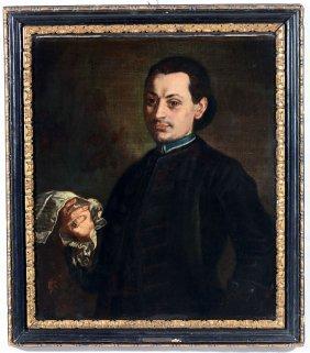Alessandro Longhi (venezia 1733-1813), Ritratto Di