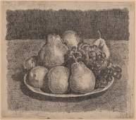 Giorgio Morandi 18901964 Natura morta con pere e