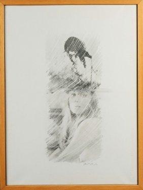 Mimmo Rotella (1918-2006), Senza Titolo, 1979