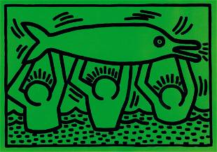 Keith Haring (1958-1990), Untitled 1989