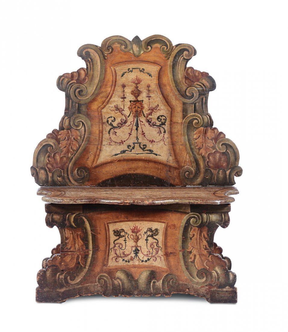 A bench, 18th century