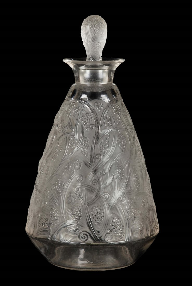 René Lalique (1860-1945), France, Carafe,