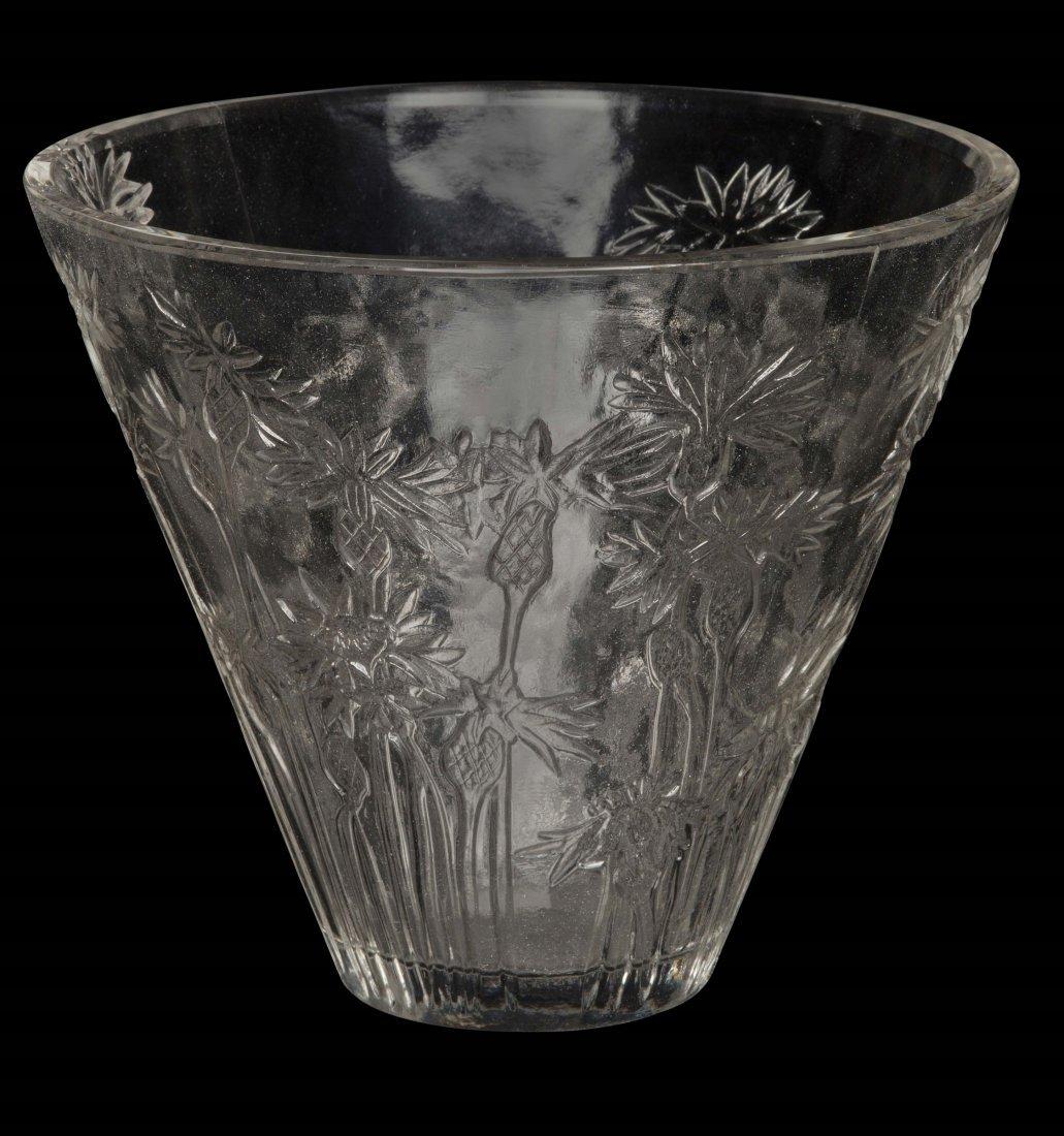 """René Lalique (1860-1945), France, """"Bluets"""" vase, model"""