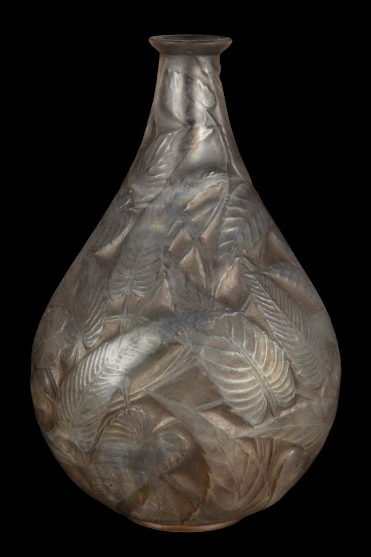 "René Lalique (1860-1945), France, ""Sauge"" vase, model"