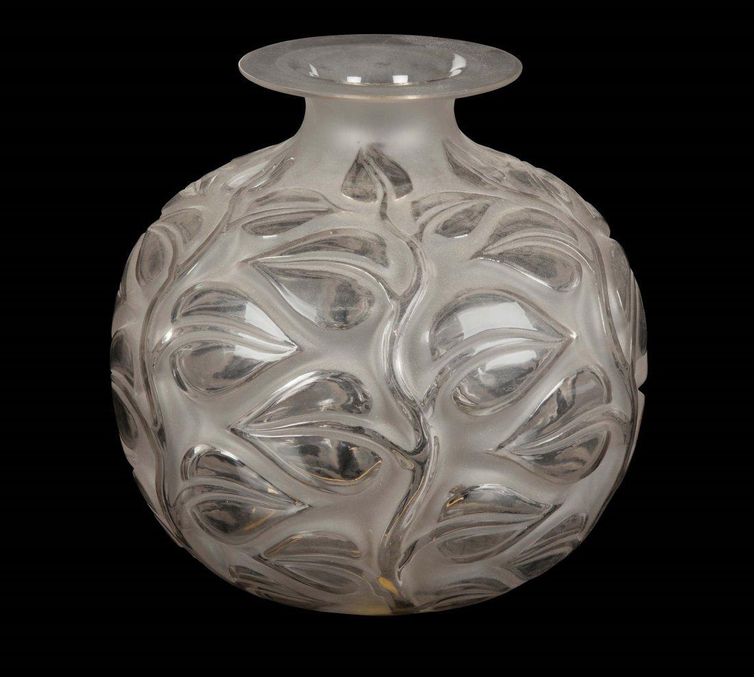 "René Lalique (1860-1945), France, ""Sophora"" vase,"