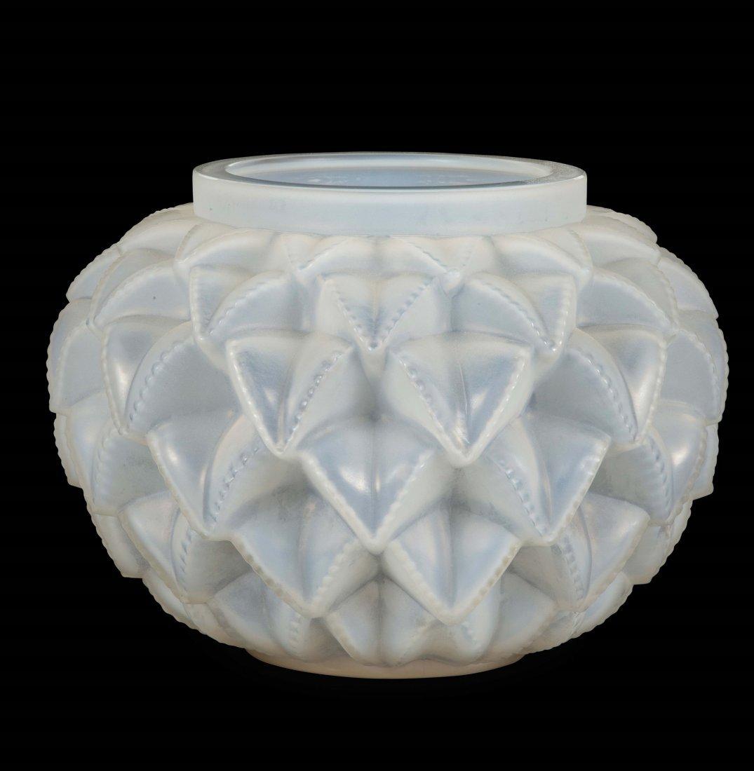 """René Lalique (1860-1945), France, """"Languedoc"""" vase,"""