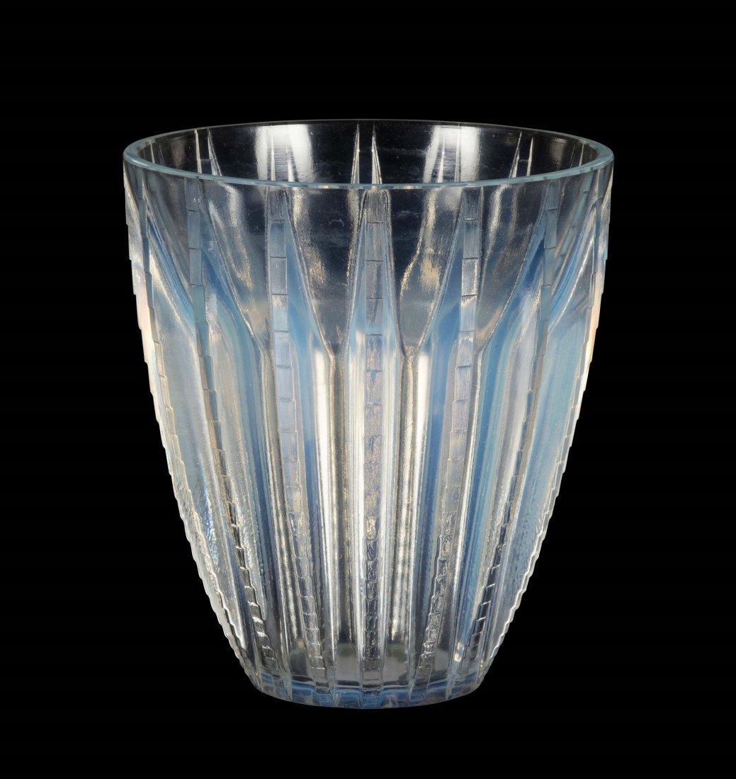 "René Lalique (1860-1945), France, ""Chamonix"" vase,"