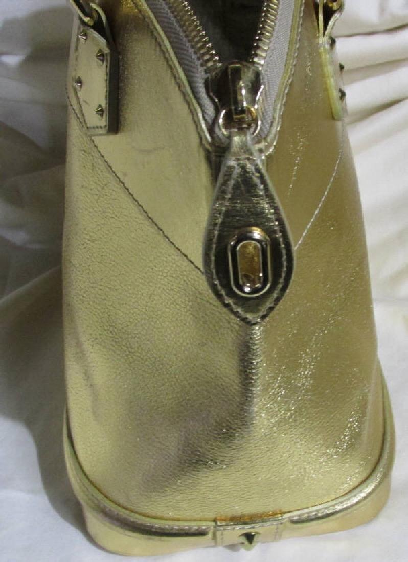 Louis Vuitton  Lockit Gold Leather Motif Bag - 3