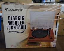 New Ceekoala Classic Style Wooden Turn Table