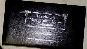 Morgan Dollar from all five U.S. Mints