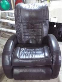 Brown Used Massage Chair & Recliner. Works Great!