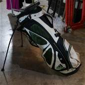 White Black Adidas Golf Bag