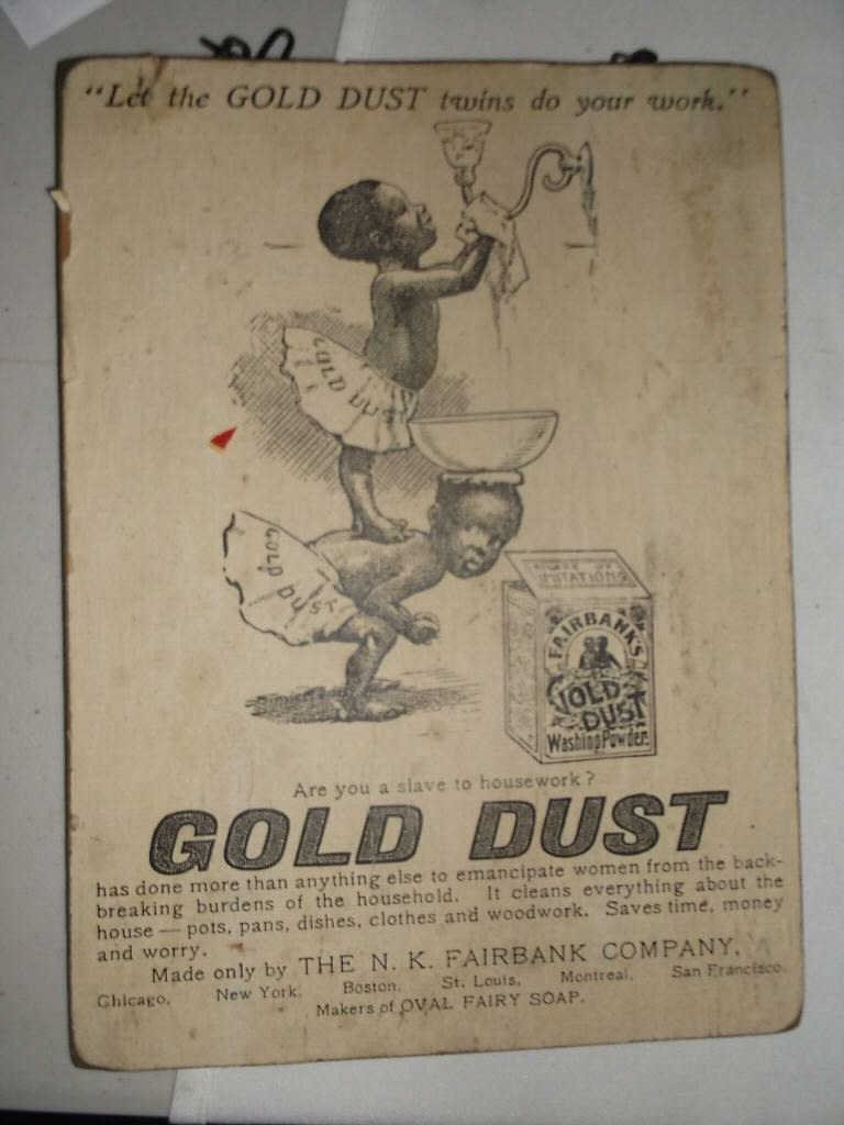 5: Vintage Gold Dust Advertisement