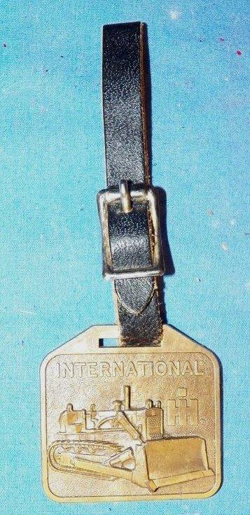 9: International Harvester Watch Fob