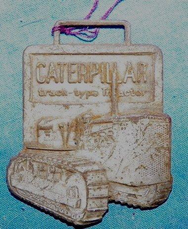 11: Caterpillar Watch Fob