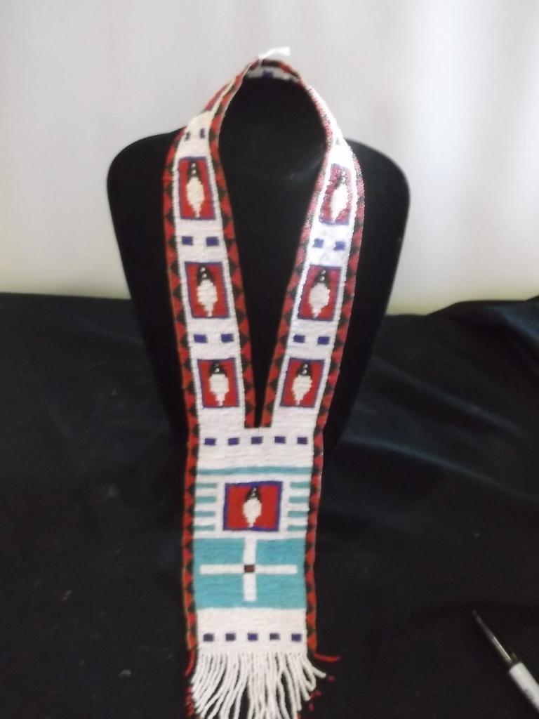 22: Plains Indian Beaded Collar