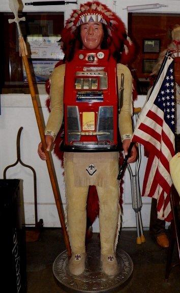 328: Mills Indian Slot Machine