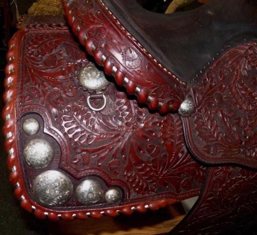 335: Billy Royal Show Saddle - 7
