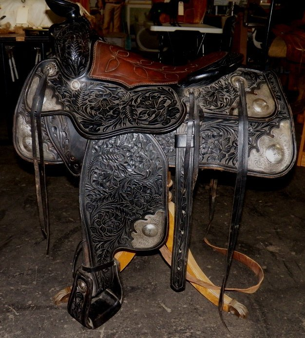 337: Harry Rowell Show Saddle