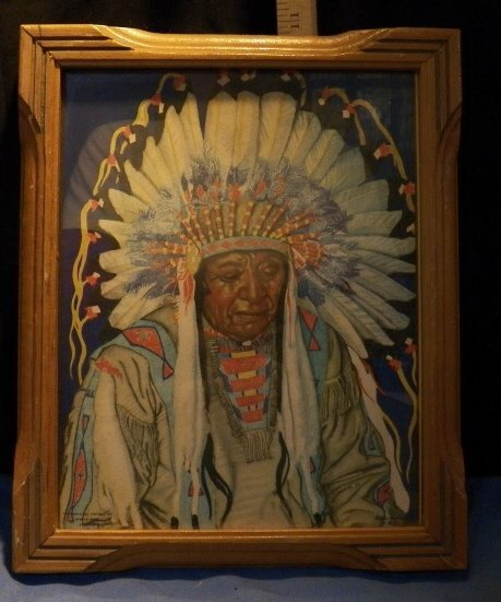 551: Indian Chief Picture