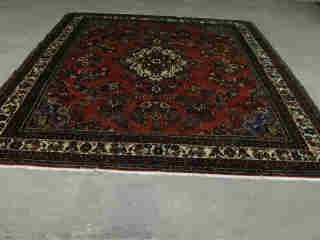 3: HAMADAN CARPET,  Late 20th century - Appro