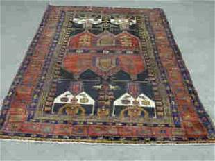 NEHAWAND RUG. Approx. 8 ft. 1 in. x 4 ft.