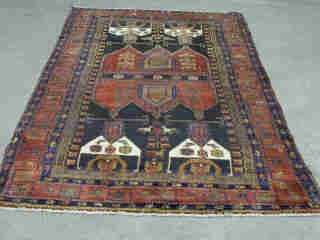 9: NEHAWAND RUG.  Approx. 8 ft. 1 in. x 4 ft.