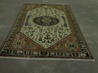 10: ABEDEH CARPET.  Approx. 8 ft. 8 in. x 5 f