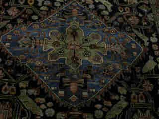 12: NEHAWAND CARPET.  Approx. 10 ft. 4 in. x - 2