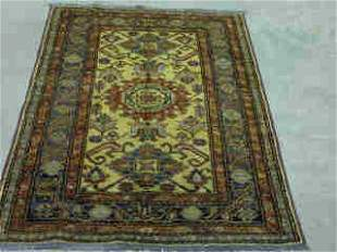 KAZAK RUG. Approx. 4 ft. 8 in. x 3 ft. 3