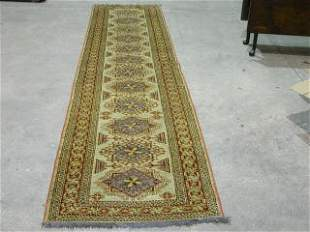 KAZAK RUNNER. Approx. 12 ft. 8 in. x 2 f