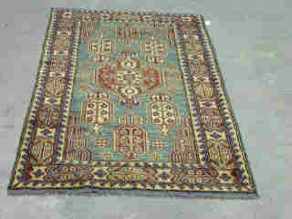 20: KAZAK RUG.  Approx. 5 ft. 2 in. x 3 ft. 4