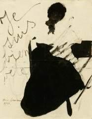 201: MARIE LAURENCIN (Fr., 1885 - 1956).  Je