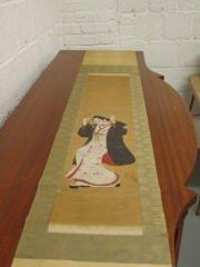 48: Chinese Scroll on Silk