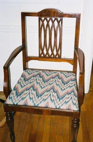 4006: Duncan Fife Mahogany Dining Room Chairs