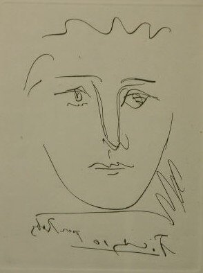 4012: Picasso Etching